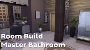 Master Bathroom The Sims 4 Room Build Master Bathroom Youtube