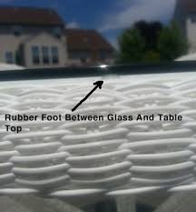 non slip pads for glass table tops keep your glass table tops clean free from sliding
