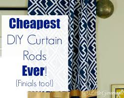 Discount Curtain Rods Diy Curtain Rods Ever Finials Too