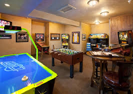 Games For Basement Rec Room by Which Finished Basement Design Is For You U2014 Custom Home