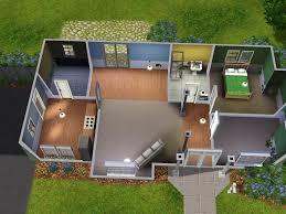 sims 3 starter house plans