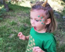 Kids Makeup For Halloween by Kids Dragon Costume Face Decals Kids Mermaid Costume For