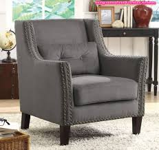 Leather Accent Chairs For Living Room Accent Arm Chairs Random Designs Within Leather Accent Chairs With