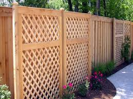 Fencing Ideas For Backyards by Download Back Yard Fence Ideas Garden Design