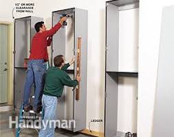 How To Build Garage Storage Cabinet by Build The Ultimate Garage Cabinets Yourself Family Handyman
