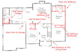 custom floor plan in suite stanton homes