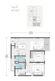 H2o Residences Floor Plan by Nadi Bangsar Serviced Residence Freehold Apartment In Bangsar