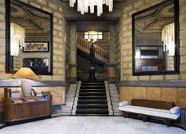 cotton house hotel barcelona mixes neoclassical elements with cotton house hotel barcelona neoclassical architecture marble staircase