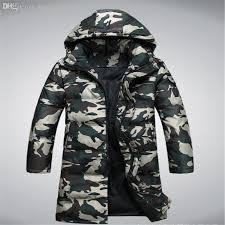 Green Parka Jacket Mens 2017 Fall Camouflage Parka Jacket Men U0027s Longer Section Thicken