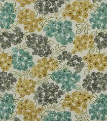 upholstery fabric robert allen luxury floral pool joann