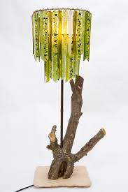 Handmade Table Lamp Lovers Lights U2013 Handmade Recycled Glass Chandeliers And Table