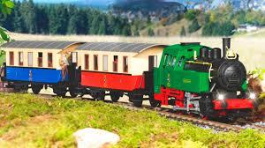 the train vs the little train cartoon video for kids adventure