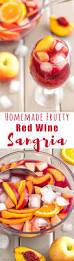 cocktail drinks names homemade fruity red wine sangria recipe happyfoods tube
