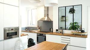 agencement cuisine ouverte idee agencement cuisine cuisine ouverte sur salon 30m2 4 idee