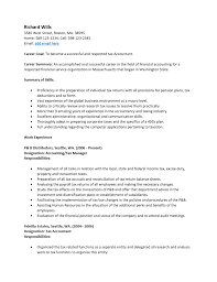 Sample Resume For Accounting Job by Resume Simple Format For Cv Cover Letter For Accountant Job