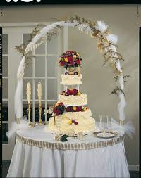 wedding cake table ideas wedding cake on every table amazing wedding cake display dessert