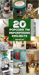 20 creative popcorn tin repurposing projects diy crafts