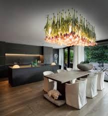 ladario sala da pranzo tulipani e vetro di murano flower power il pazzesco ladario