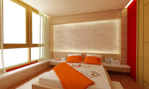 Simple Bed Designs 2016 Simple 14 Orange And White Bedroom Ideas On Rdcny