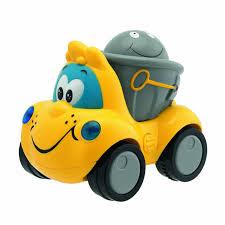 chicco funny vehicle dump truck toy amazon co uk toys u0026 games