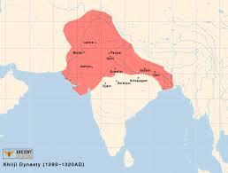 Babylonian Empire Map Khilji Dynasty 1290 Ad U2013 1320 Ad