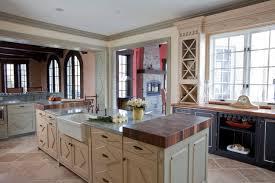 smart idea kitchen designers long island twotone cabinets modern