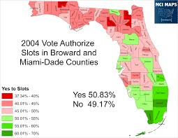 Map Of Miami Dade County by The Politics Of Slot Machines In Florida U2013 Mci Maps