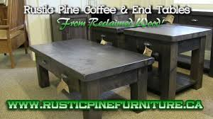 rustic pine end table rustic pine coffee end tables from reclaimed wood in elm or pine