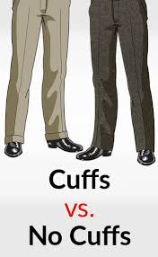 cuffs or no cuffs how to wear the dress pants
