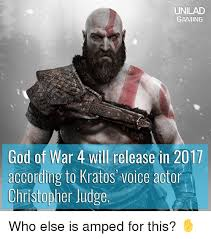 God Memes - unilad gaming god of war 4 will release in 2017 according to