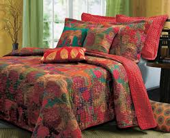 King Quilt Bedding Sets Tropical Or Fall Bedding King Quilt