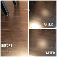 Vinegar For Laminate Floors Keeping My Dark Laminate Floors Smudge Free The Easy Way So