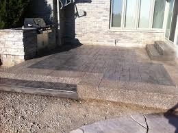 Exposed Aggregate Patio Stones Thames Valley Decorative Concrete Inc Patios