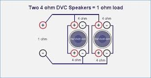 subwoofer wiring diagrams 1 ohm anonymer info