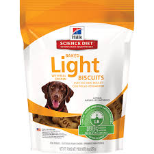 science diet light calories hill s science diet baked light biscuits with real chicken medium