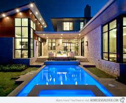 15 Lovely Swimming Pool House Simple House With Swimming Pool House Swimming Pool Design