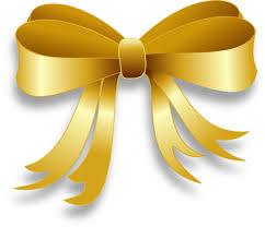gold ribbon gold ribbon clip at clker vector clip online