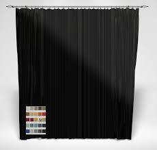 Black Backdrop Curtains Plain Stage Backdrop 25 Colours Direct Fabrics