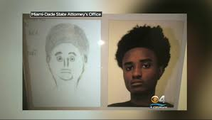 amateur sketch of murder suspect is more than just a little off