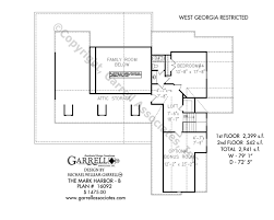2nd Floor Plan Design Mark Harbor B House Plans By Garrell Associates Inc