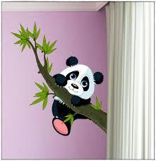 stickers panda chambre bébé stickers panda chambre bébé idées de décoration à la maison