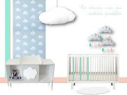 chambre bébé nuage décoration nuage pour chambre de bébé celestine déco