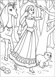 barbie thumbelina coloring pages barbie and the magic pegasus coloring pages learn to coloring