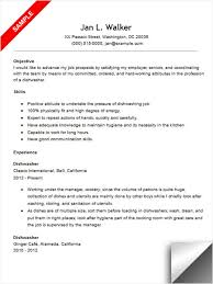 Busboy Resume Examples by Neat Design Dishwasher Resume 3 Resume Sample Resume Example