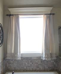 bathroom window treatment ideas bathroom bathroom curtain ideas luxury diy shower curtain rod