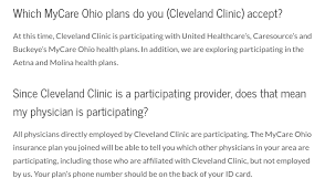 cleveland clinic and caresource sever ties many medicaid patients