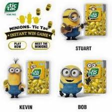 where to buy minion tic tacs despicable me minion tic tac limited edition stuart bob kevin set