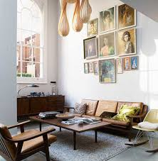 Mid Century Modern Leather Sofa Vintage Finds For A Modern World Slouchy Sofas Sfgirlbybay
