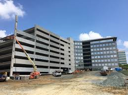 columbia office building garage and boardwalk tarantino