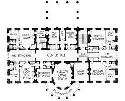 Floor Plan White House Residence Floor 2 White House Blueprints Pinterest